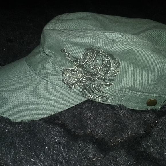 Olive Green Xtreme Limit Military Cap Womens. M 5a34933e84b5ce5a07026fc9 8ff85d20a1